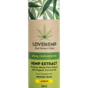 Love hemp 400mg cbd oil ireland 20ml lemon flavour