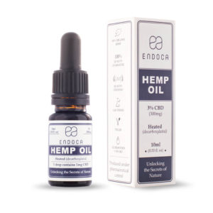 endoca hemp oil 3% CBD Oil